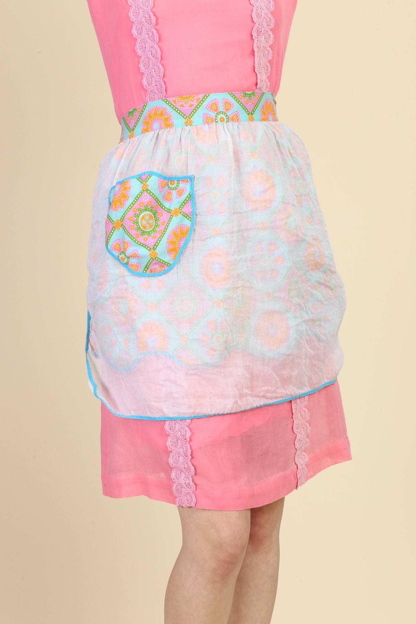 Vintage Reversible Hostess Apron