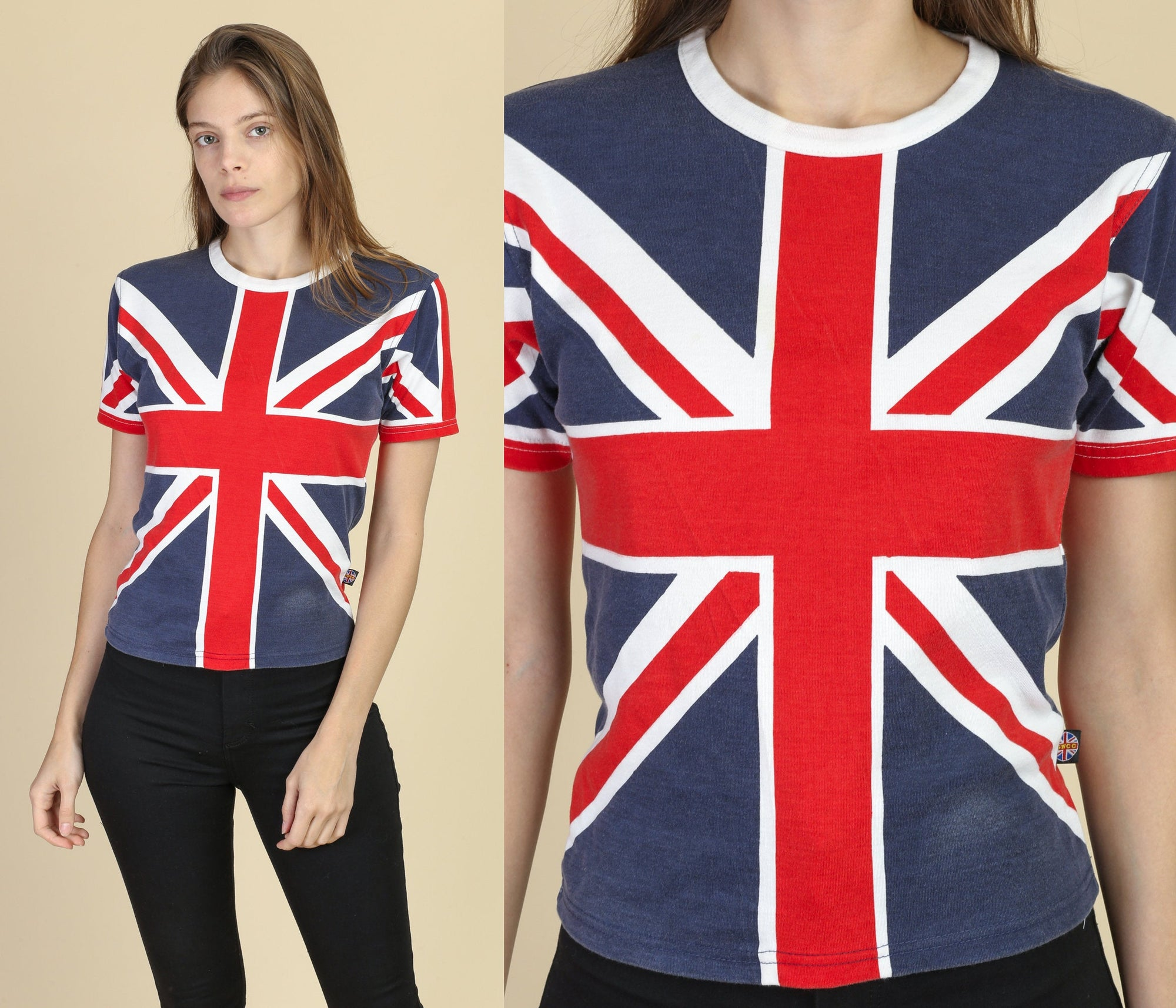 Union Jack T Shirt - Extra Small