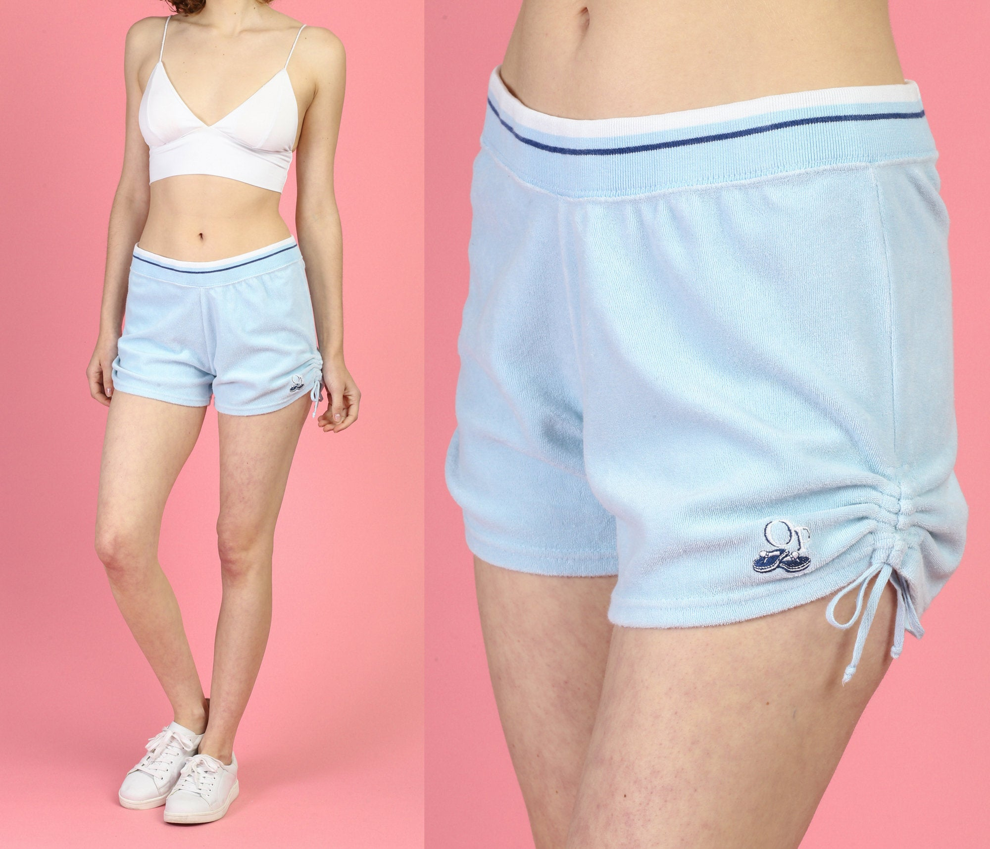 90s Ocean Pacific Terrycloth Shorts - Medium
