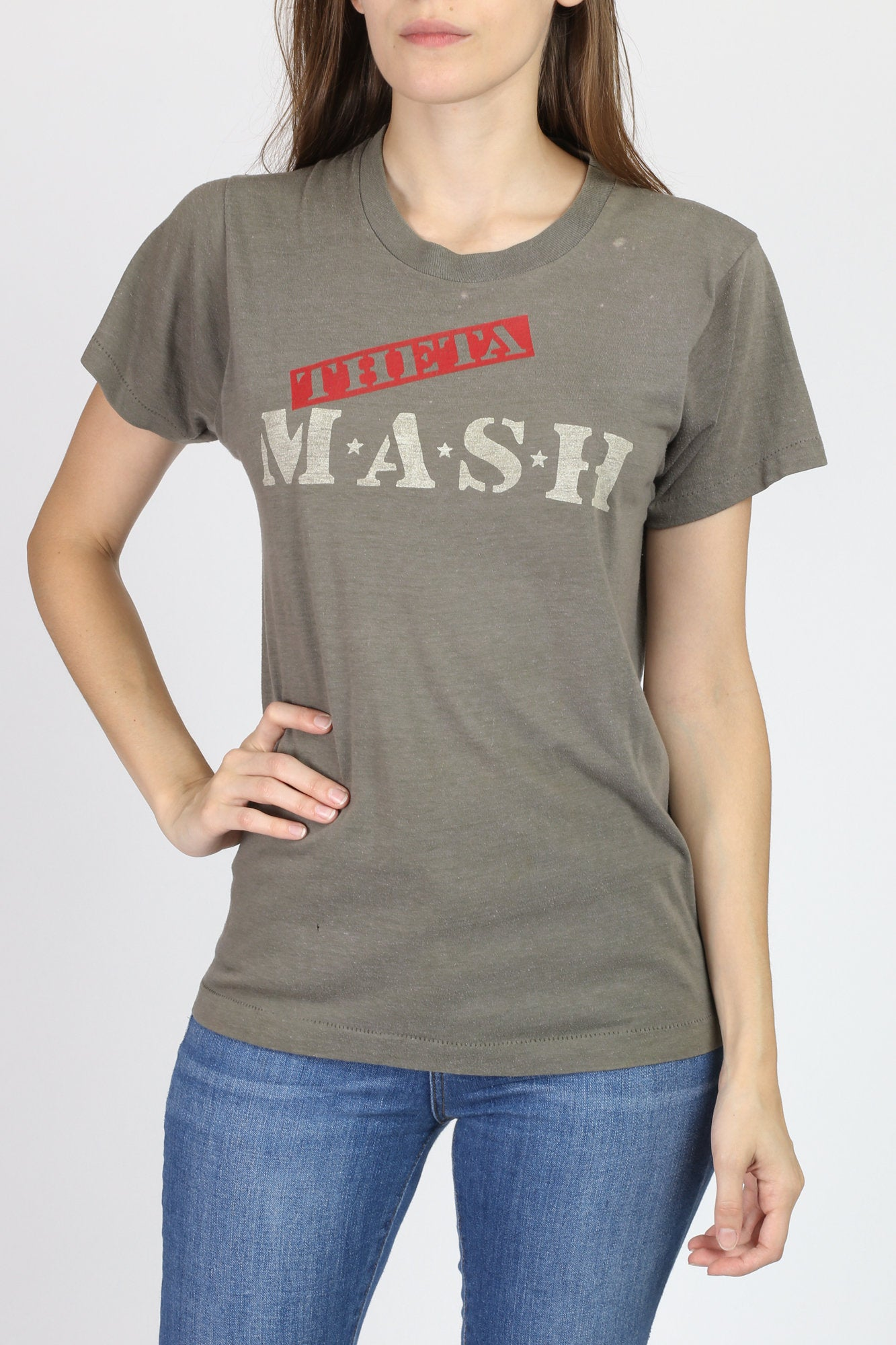 Vintage 80s MASH T Shirt - Small to Medium
