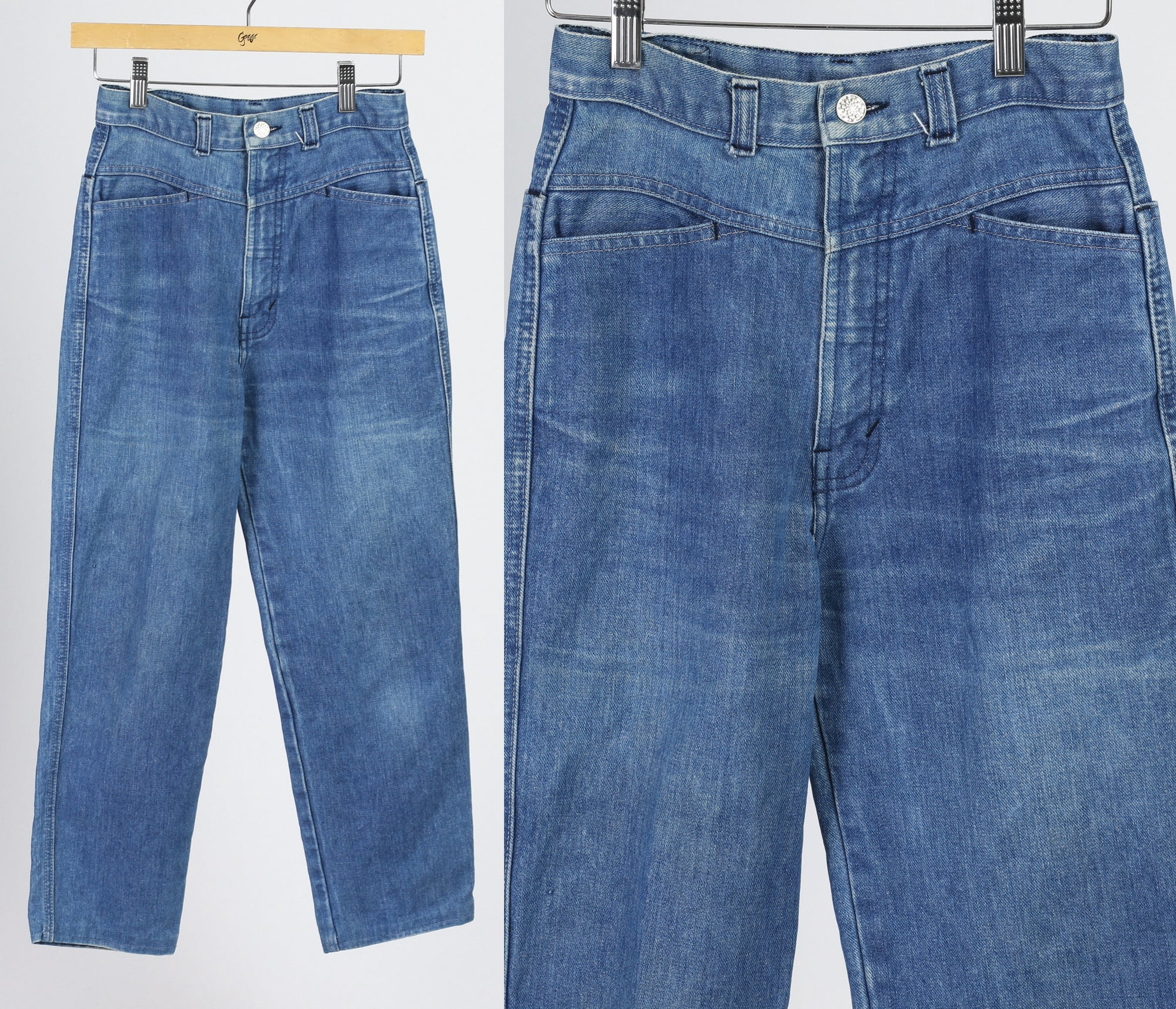 90s Rocky Mountain High Waist Western Mom Jeans - Petite Small