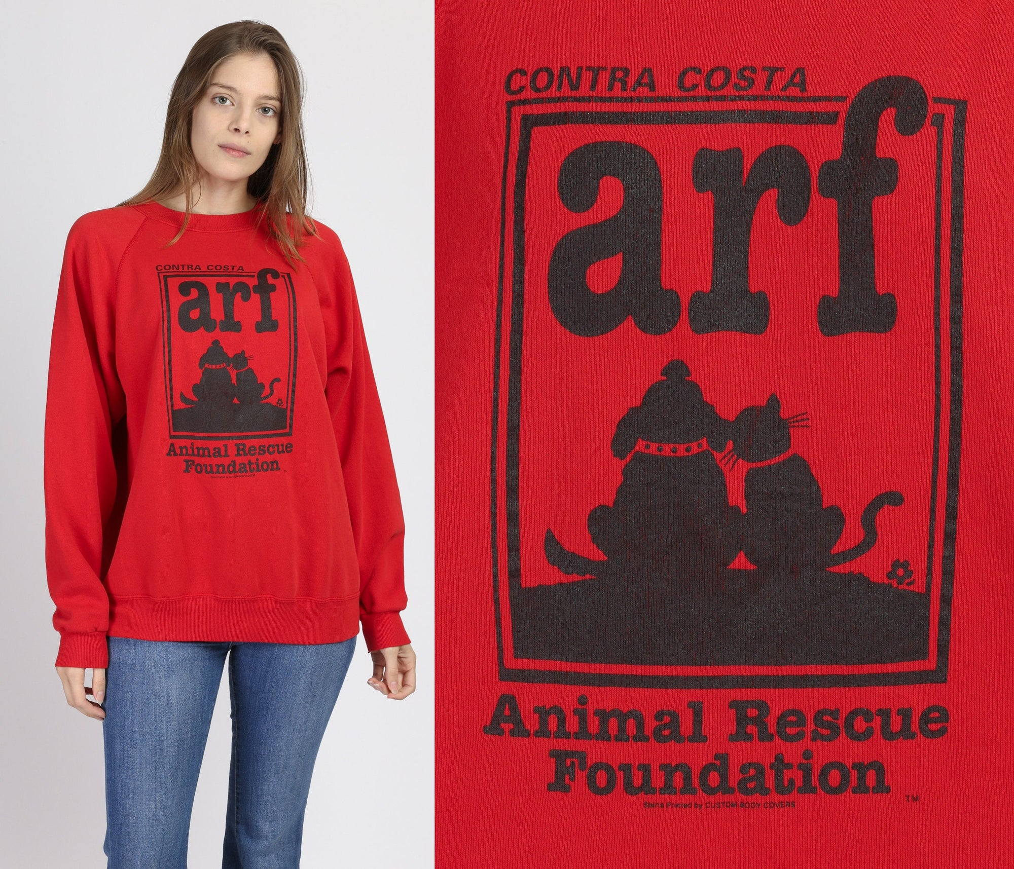 Vintage ARF Animal Rescue Foundation Sweatshirt - Extra Large