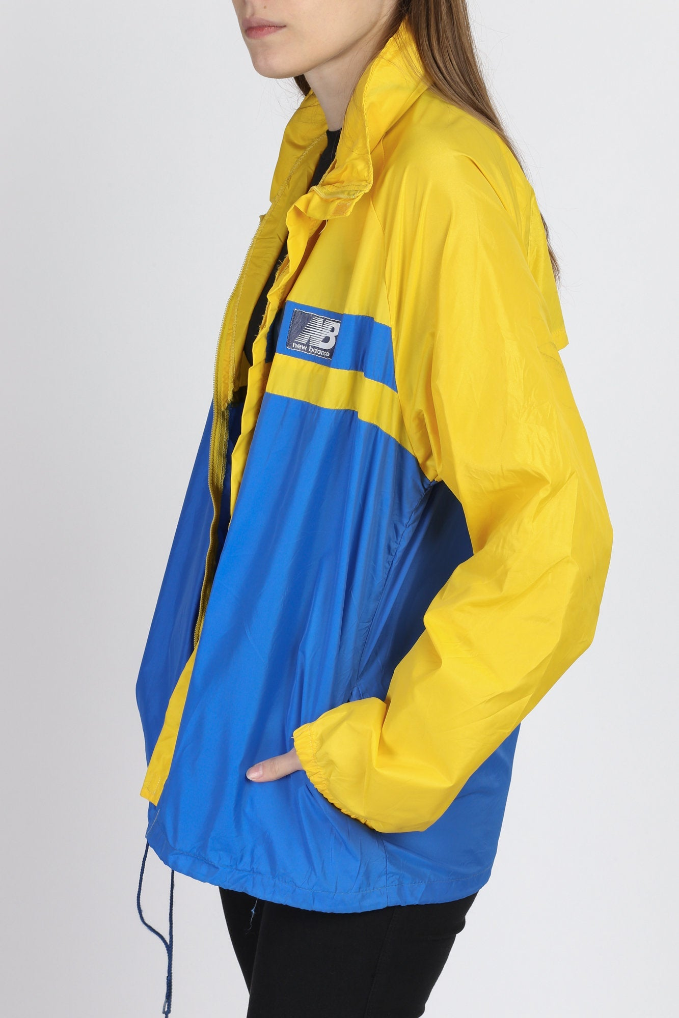 80s 90s New Balance Windbreaker - Men's Large