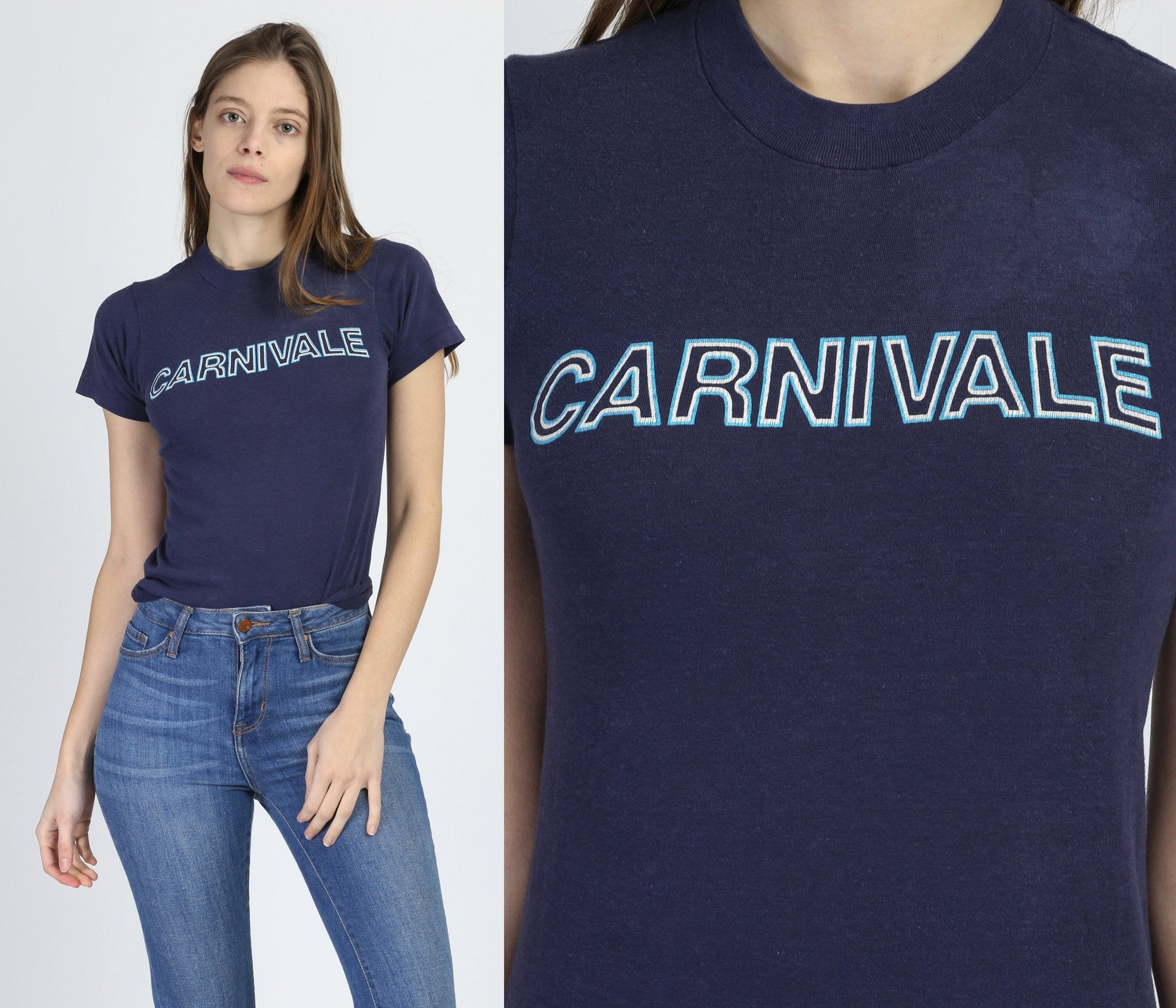 80s Carnivale T Shirt - Extra Small