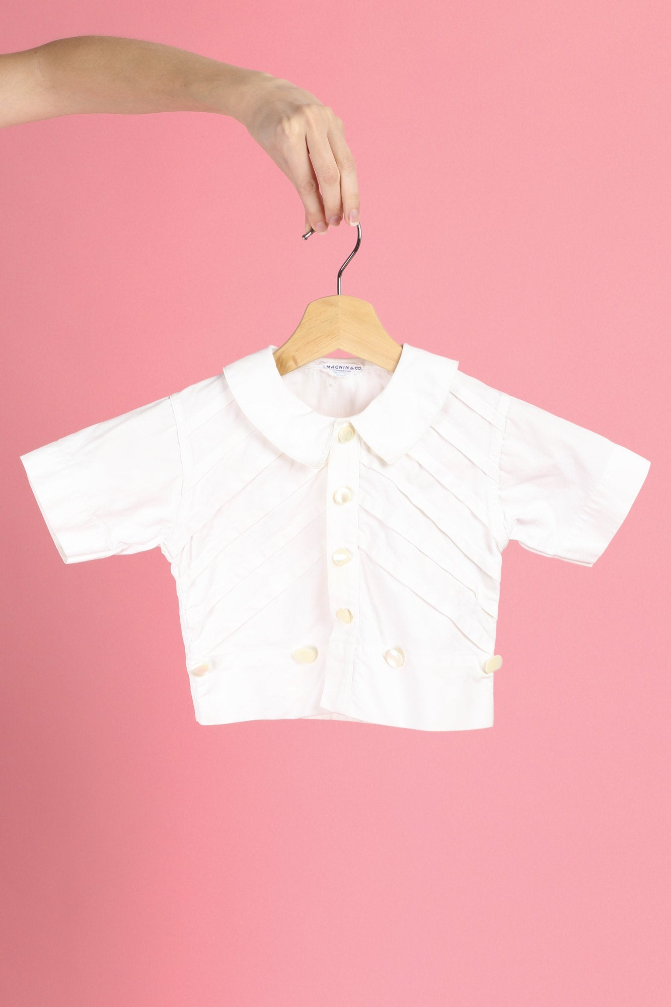 60s I. Magnin Toddler Top - 4T