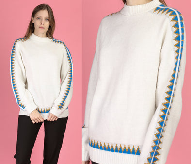 70s Arrow Ski Internationale Sweater - Medium