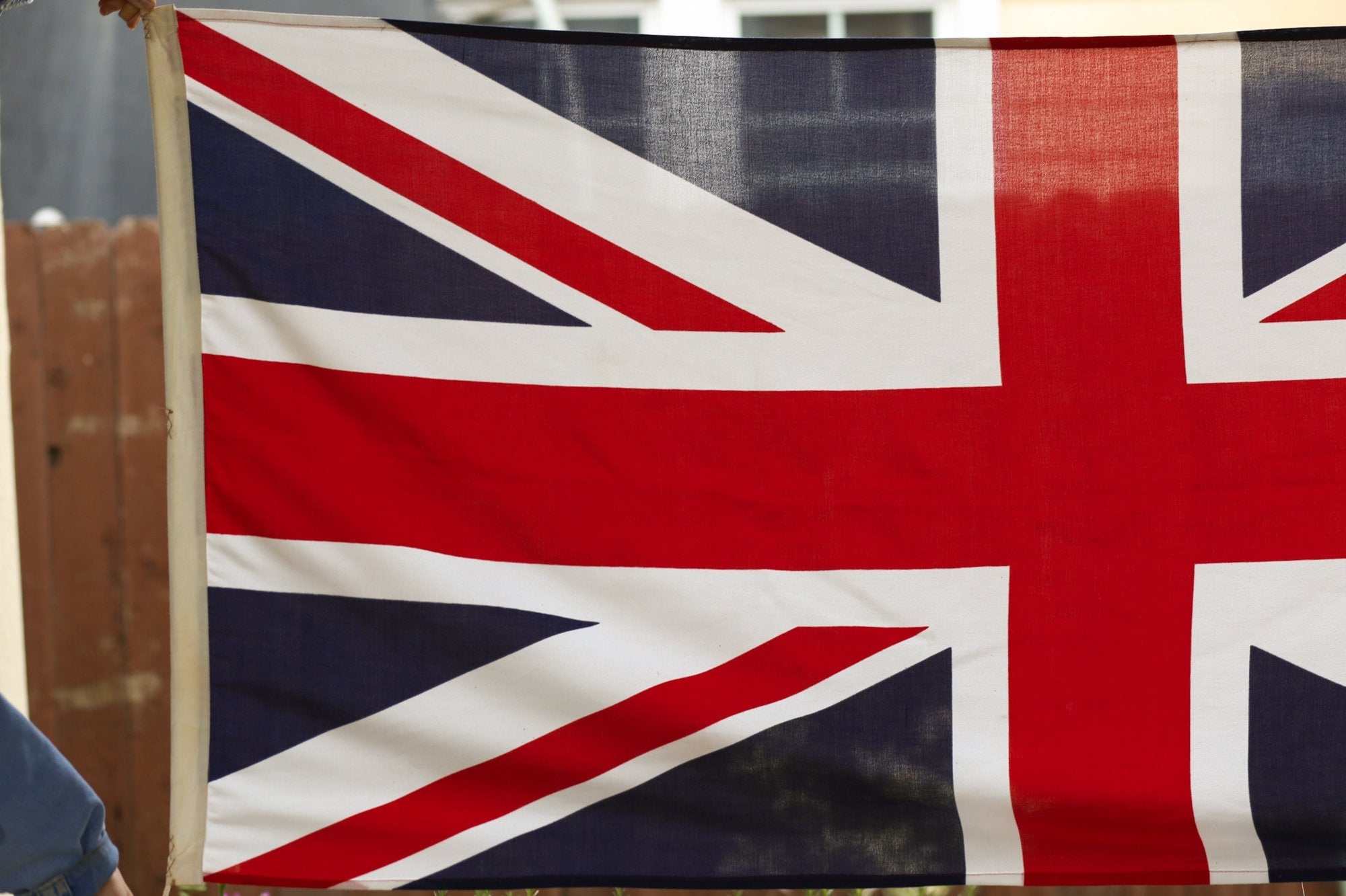 Vintage British Union Jack Flag - 3'x5'