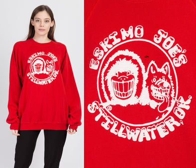 80s Eskimo Joe's Tourist Sweatshirt - Men's XXL