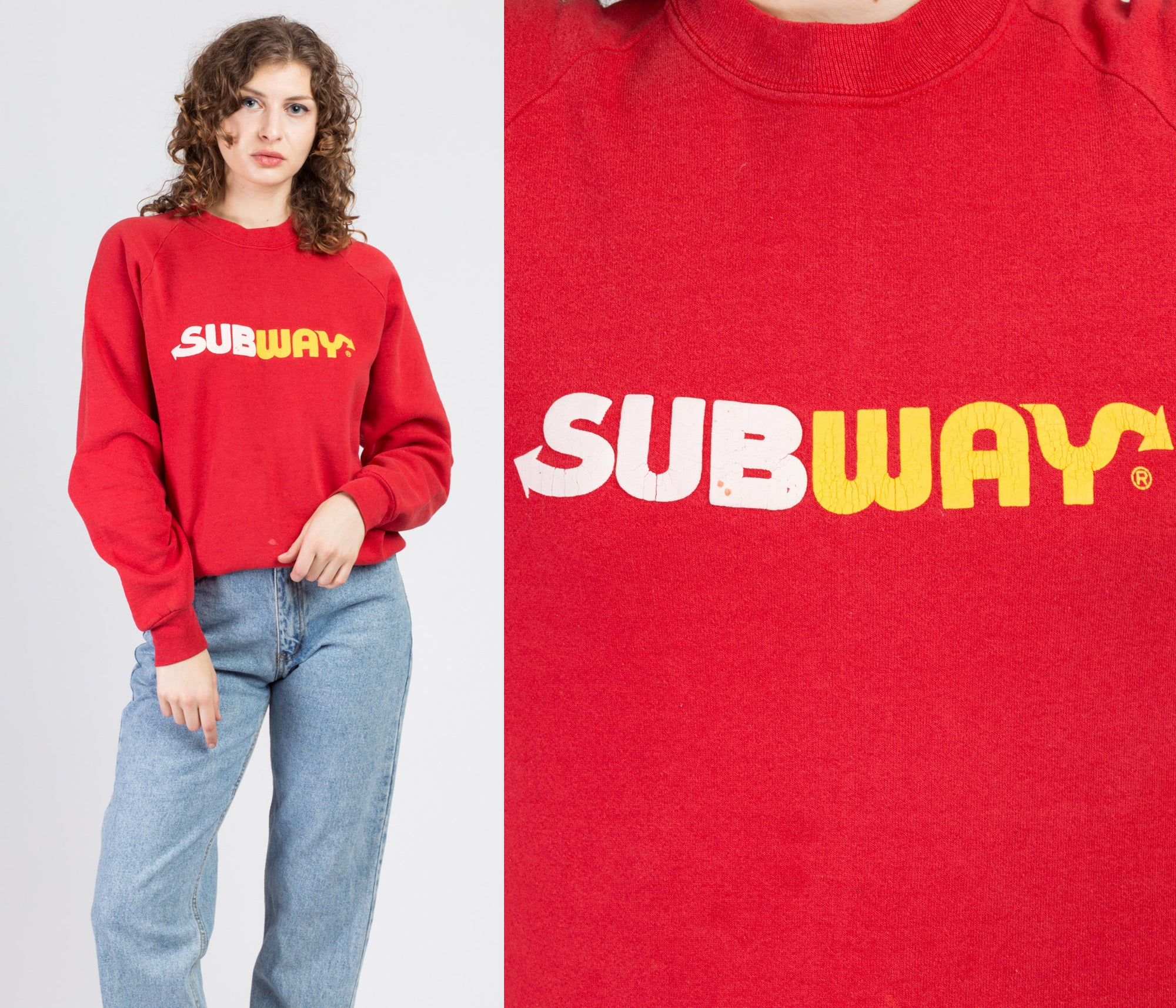 80s Subway Sweatshirt - Men's Medium