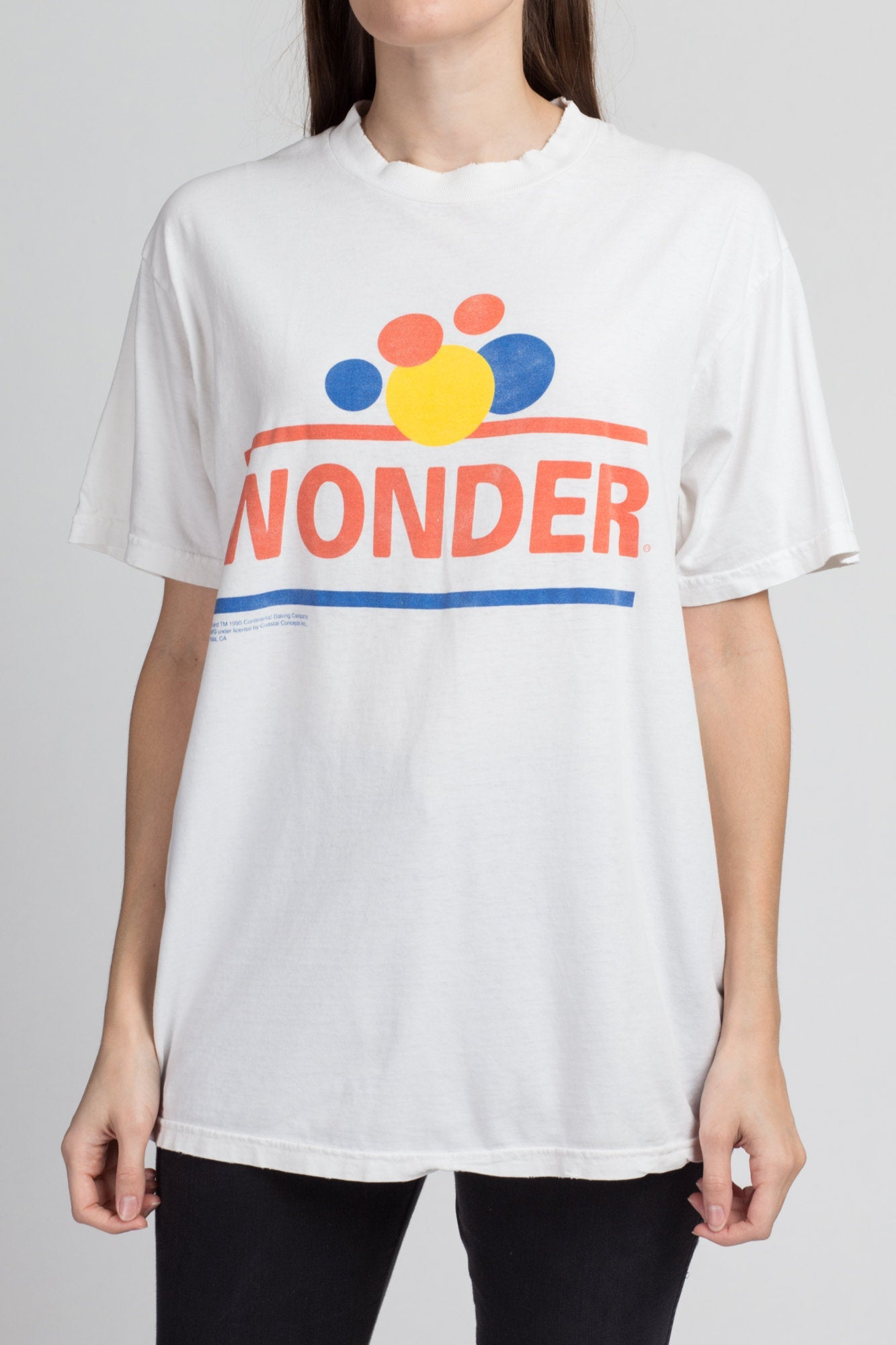 Vintage Wonder Bread T Shirt - Large