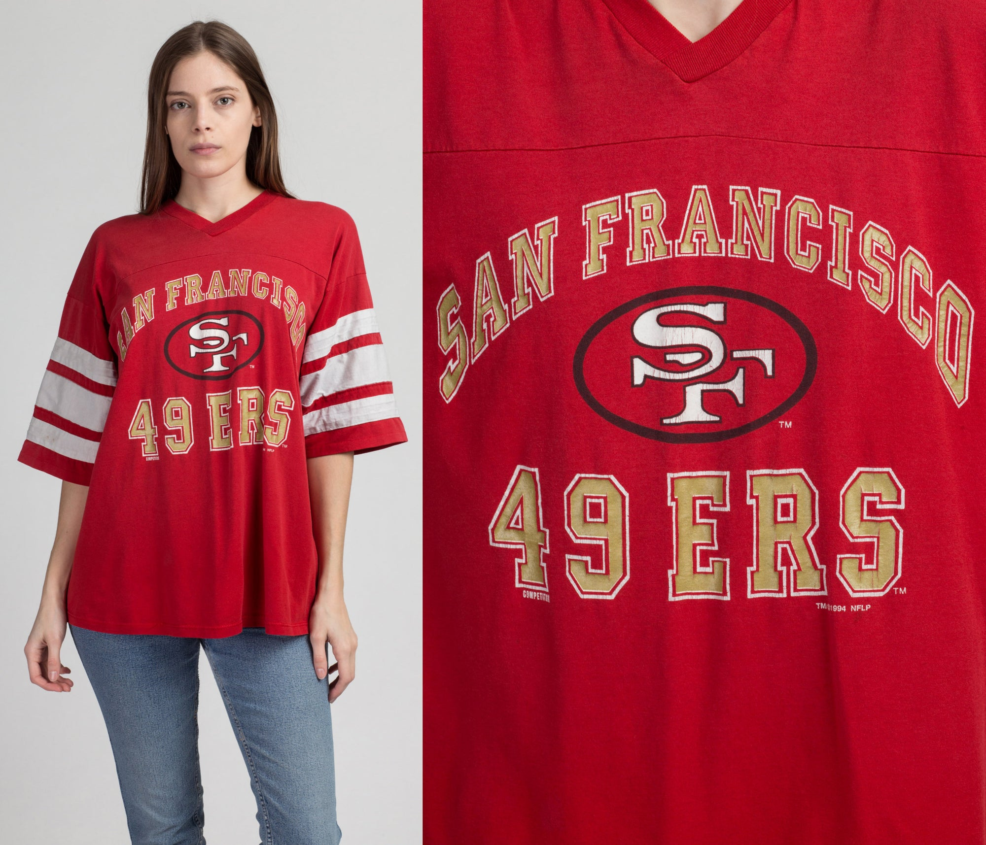 90s San Francisco 49ers T Shirt - Men's XL | Vintage NFL Football Athletic Tee
