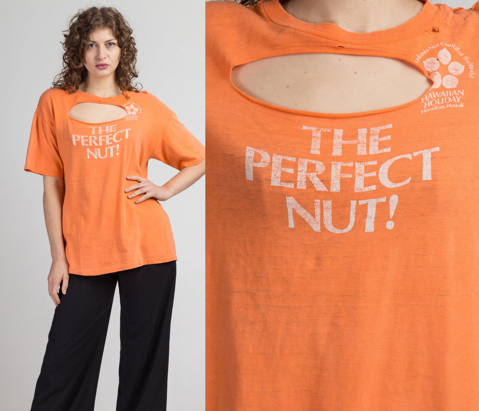 "Vintage ""The Perfect Nut"" T Shirt - Men's XL 