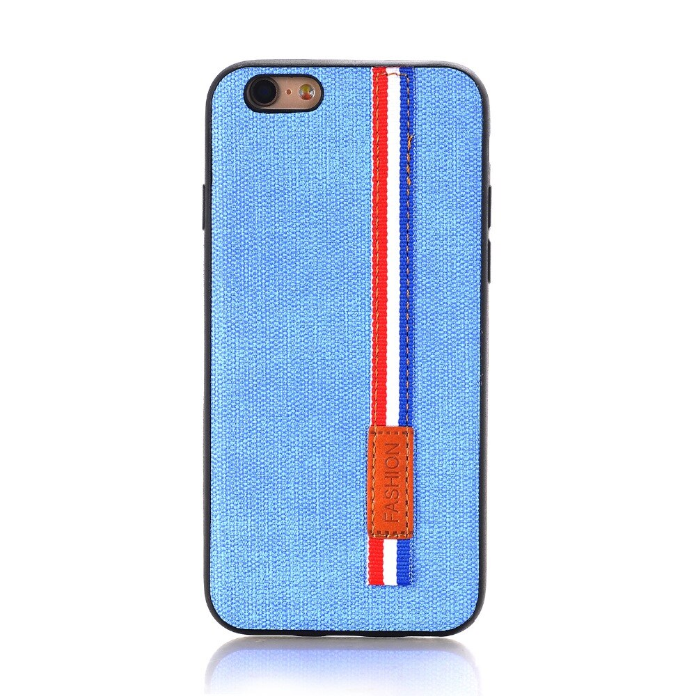 Denim Back Fashion Case for iPhone 6/6s with Strap