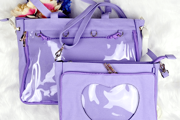 OTB Totes and Messengers are in Lavender!