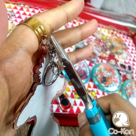 Taking off Keychains off Charms