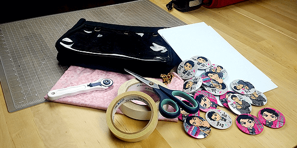 ita bag insert supplies needed