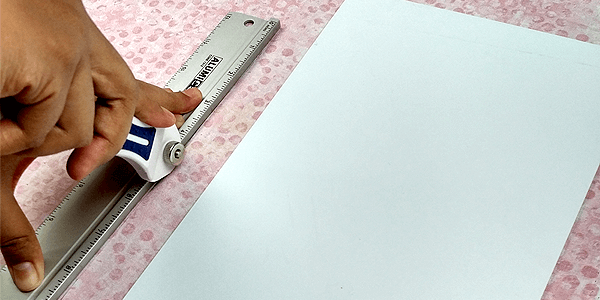 Trying out a rotary cutter and loving it!