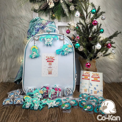 best ita bag backpack decorated miku hatsune