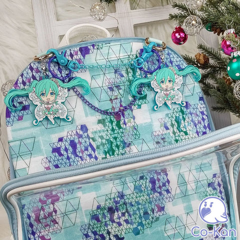 best ita bag backpack decorated miku hatsune backing is inserted
