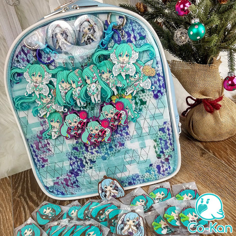 best ita bag backpack decorated miku hatsune even more merch to be added