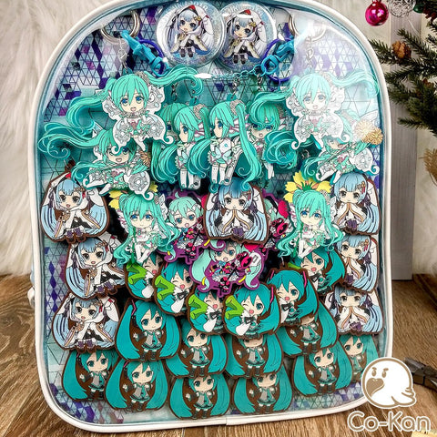 best ita bag backpack decorated miku hatsune completed