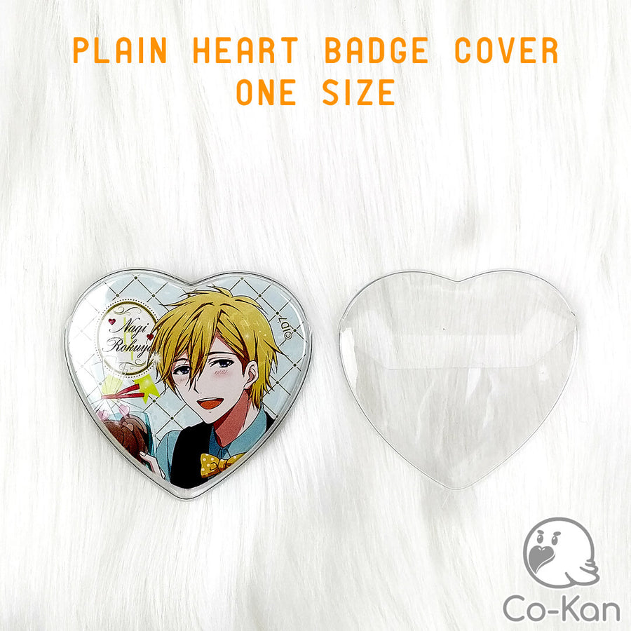 Heart Badge Cover