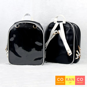 black ita bag backpack