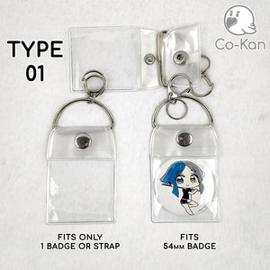Badge Band anime merch or ita bag accessory Co-Kan Type 01