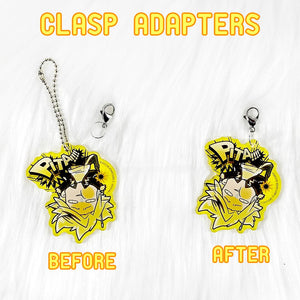 Clasp Adapters anime merch or ita bag accessory by Co-Kan