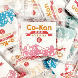Colored Safety Pins (20 Count) anime merch or ita bag accessory by Co-Kan