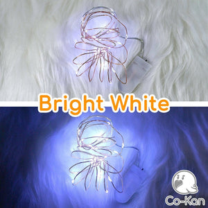 Deco Lights anime merch or ita bag accessory by Co-Kan Bright White