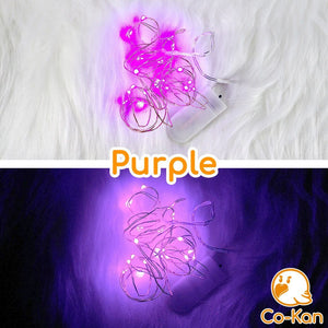 Deco Lights anime merch or ita bag accessory by Co-Kan Purple