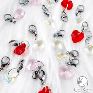 Glass Charms anime merch or ita bag accessory by Co-Kan