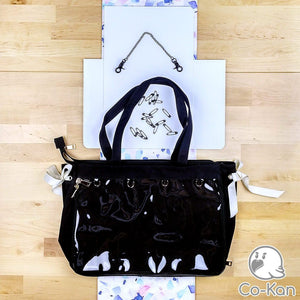 "OTB ""One True Bag"" Tote Bag ita bag by Co-Kan Black Starter Kit (+$16)"