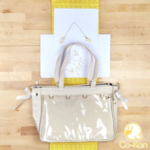 "OTB ""One True Bag"" Tote Bag ita bag by Co-Kan Cream Starter Kit (+$16)"