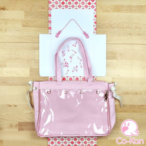 "OTB ""One True Bag"" Tote Bag ita bag by Co-Kan Pink Starter Kit (+$16)"