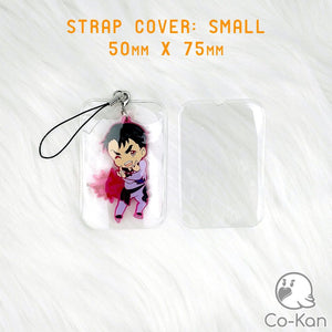 Strap Cover anime merch or ita bag accessory by Co-Kan Small