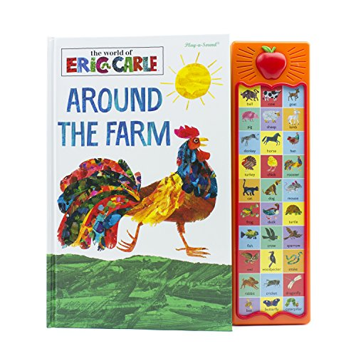 Behemotor World of Eric Carle, Around the Farm - Play-a-Sound - PI Kids