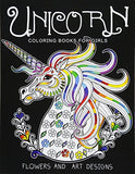 Behemotor Unicorn Coloring Books for Girls: featuring various Unicorn designs filled with stress relieving patterns. (Horses Coloring Books for Girls)