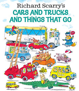 Behemotor Richard Scarry's Cars and Trucks and Things That Go