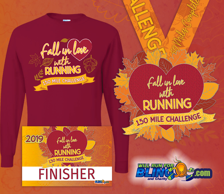 2019 Fall In Love With Running Challenge