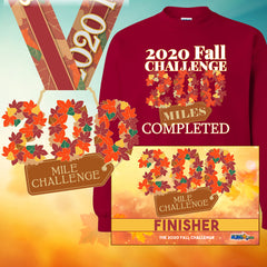 The 2020 Fall Challenge - 200 Miles