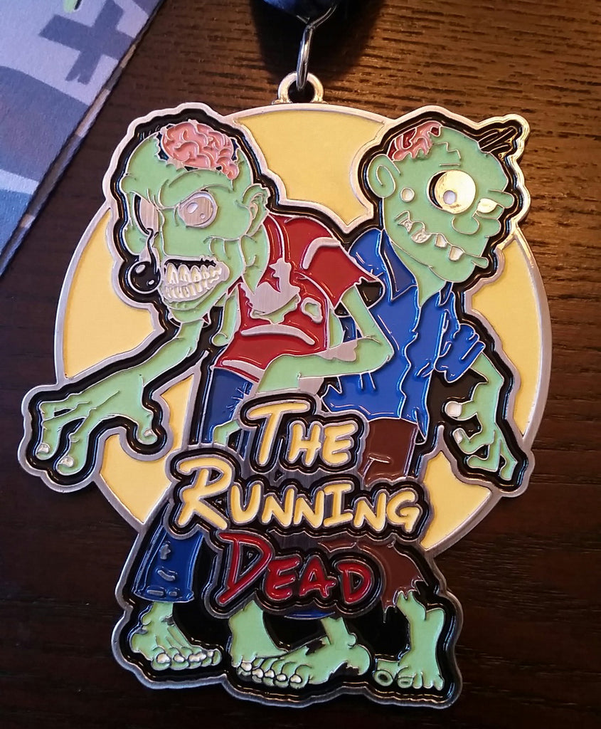 The Running Dead Glow in the Dark
