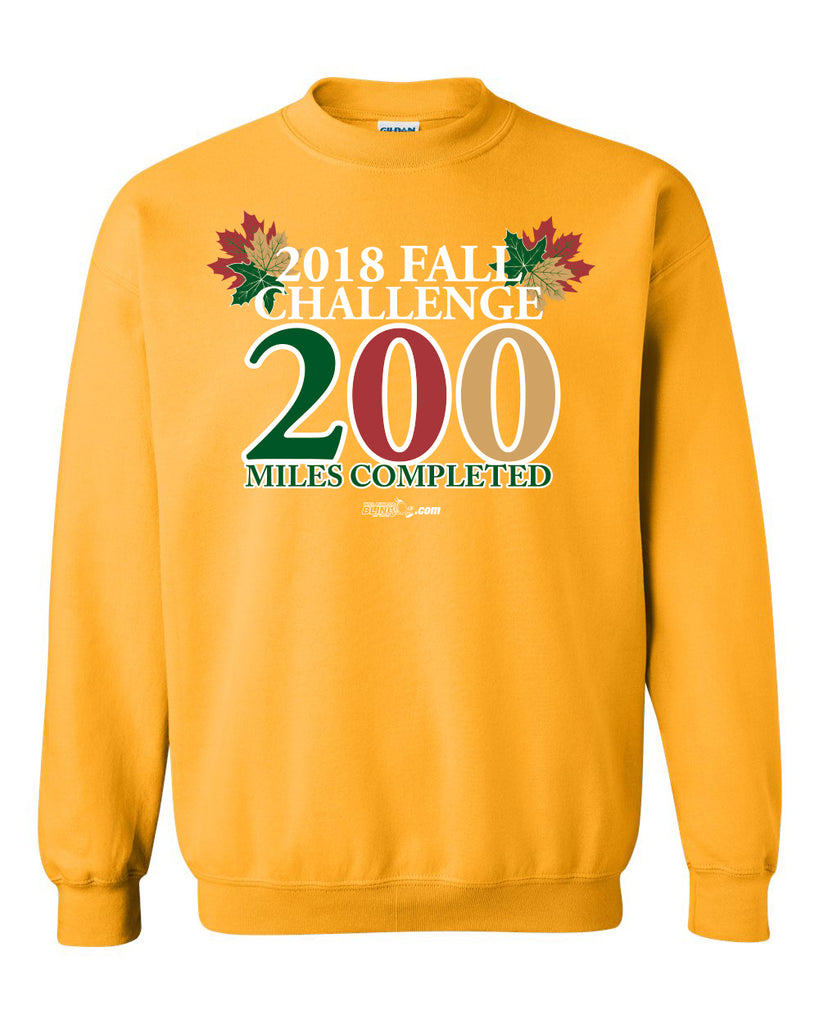 The 2018 Fall Challenge T-Shirt or Sweatshirt