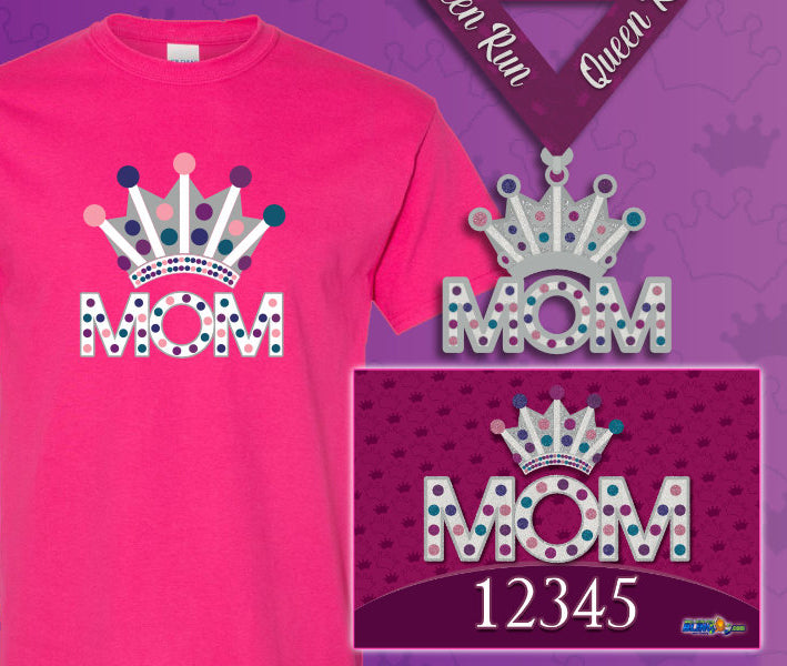The Queen MOM 5k Virtual Run