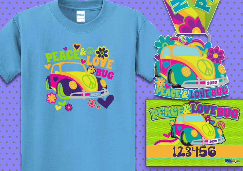 2020 Peace and Love Bug 5k Run
