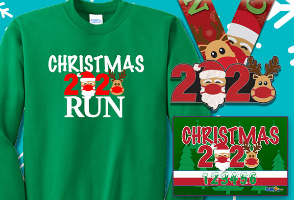The 2020 Christmas Virtual 5k Run