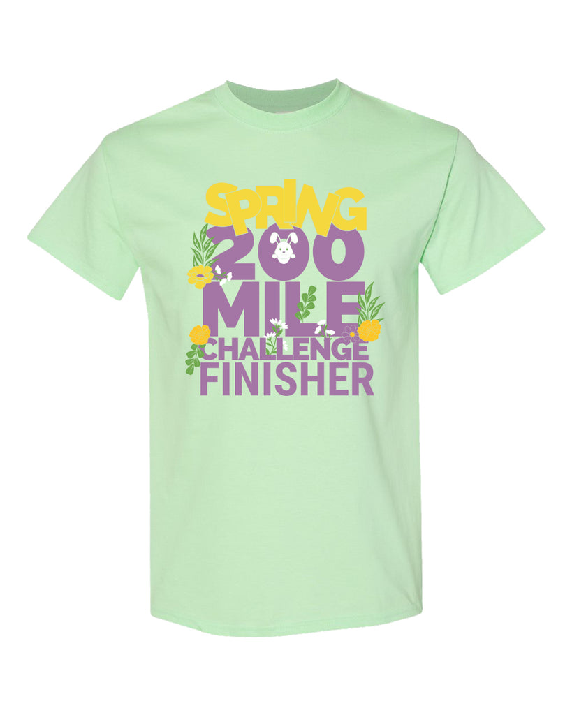 Spring 2020 Challenge T-Shirt Only - No Medal