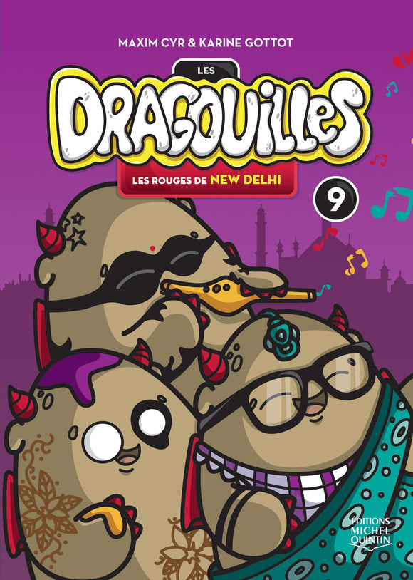 Dragouilles N° 9: Les Rouges De New Dehli