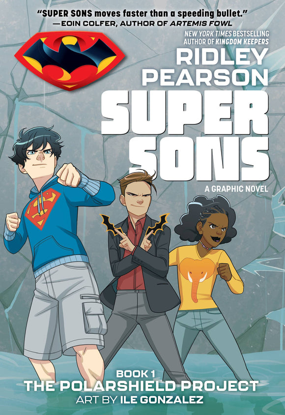 SUPER SONS BOOK 01 THE POLARSHIELD PROJECT TP DC ZOOM